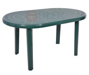 Plastikinis stalas Jantar, žalias