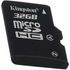 Kingston microSDHC 32GB, 4-tos klasės