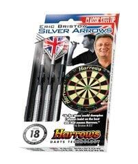 Strėlyčių komplektas Harrows Silver Arrow kaina ir informacija | Smiginis | pigu.lt