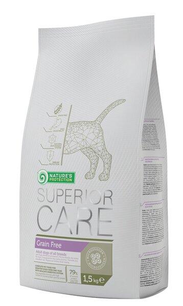 Nature's Protection Superior Care Grain Free 1,5 kg kaina ir informacija | Sausas maistas šunims | pigu.lt