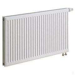 KERMI radiatorius 0.5 x 0.5 m, viengubas, apatinio pajungimo su integruotu ventiliu.