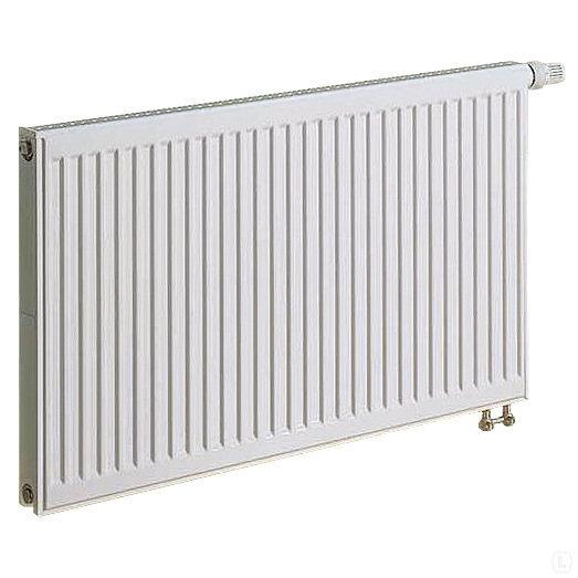 KERMI radiatorius 0.3 x 0.6 m, dvigubas, apatinio pajungimo su integruotu ventiliu.
