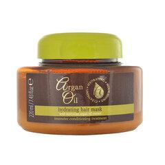 Drėkinamoji plaukų kaukė Argan Oil 220 ml