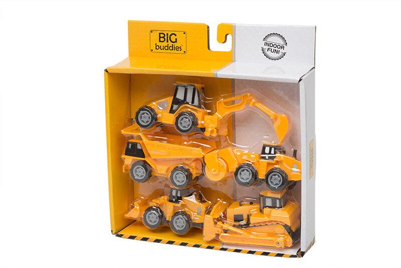 Mašinyčių rinkinys BIG Buddies, 5 vnt., BB01013